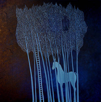 Blue Dreams by Tone Aanderaa