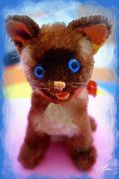 Blue Eyed Kitty by Joan Reese