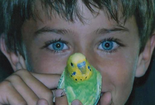 Blue Eyes by Mischelle Lorenzen