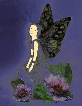 Blue Fairy by Suz Anne Wipperling