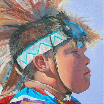 Blue Falcon by Christine Lytwynczuk