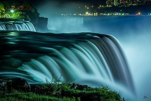 Blue Fall by Pat Scanlon