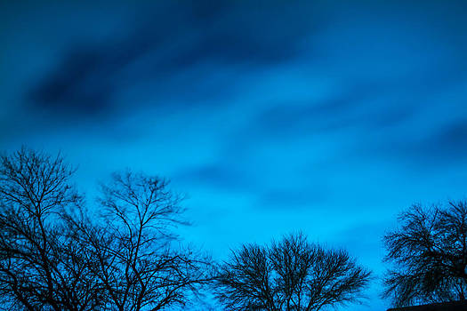 Fast Moving Blue Clouds by Jason Brow