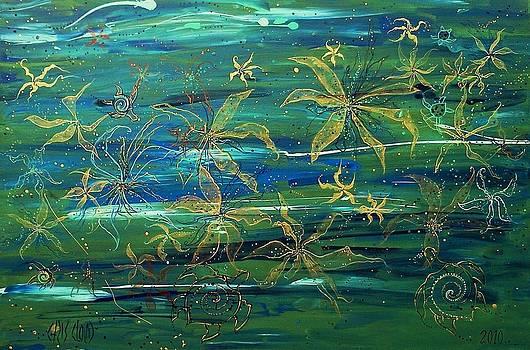 Blue Field by Chris Cloud