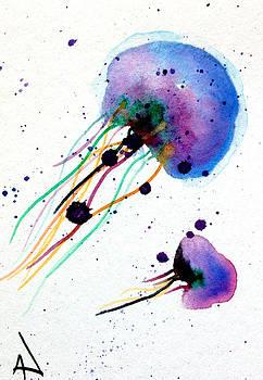 Patricia Lazaro - Blue Fire Jellyfish