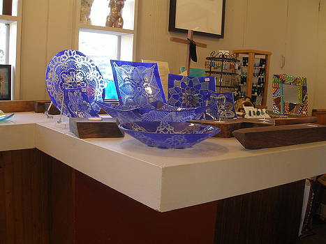 Blue Flatware by Linda Banks