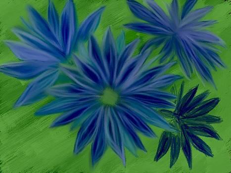 Blue Flower by Jodi Eaton