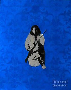 Blue Geronimo by Noah Nez