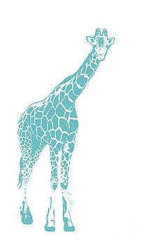 Blue Giraffe by Beauty Balance Design