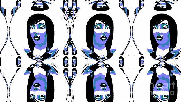 Blue Girl by Nancy Forever