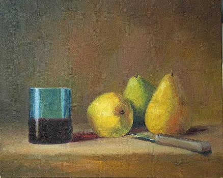 Blue Glass by Beth Johnston