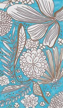 Blue Glitter by Rosalina Bojadschijew
