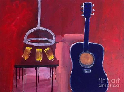 Blue Guitar by Kareem Assab