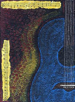 Blue Guitar by Rischa Heape