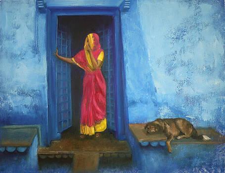 Blue harmony by Olga Yug