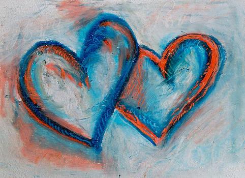 Blue Hearts by Racquel Morgan
