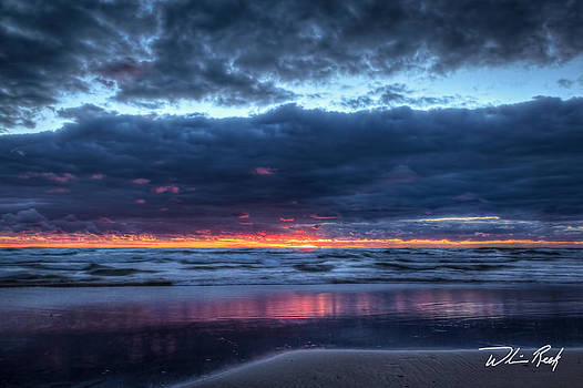 Blue Hour at the Beach 2 by William Reek