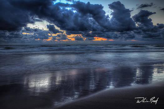 Blue Hour at the Beach by William Reek