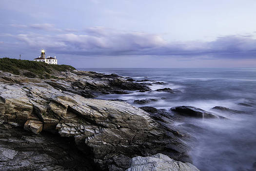 Blue Hour Beavertail Light by Hali Sowle