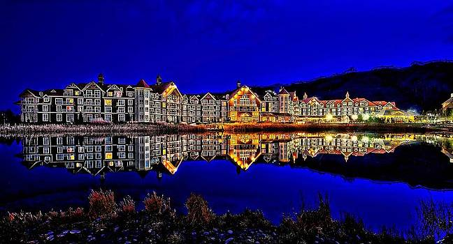 Blue Hour Reflection by Jeff S PhotoArt