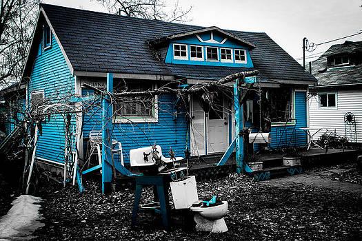 Blue House by Milan Kalkan