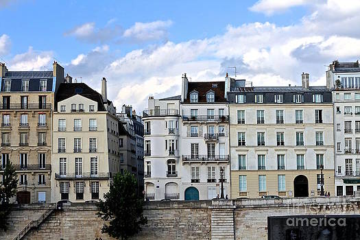 Blue Hue Facades in Paris by Julia Willard