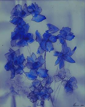 Blue Laadies by Ethel Rossi