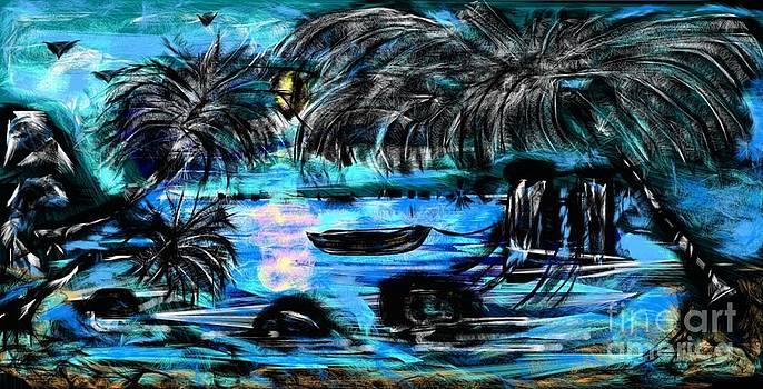 Gail Matthews - Blue Lagoon