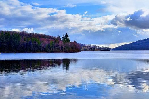 Blue Lake by Dave Woodbridge