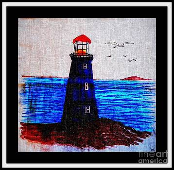 Barbara Griffin - Blue Lighthouse