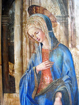 Blue Madonna by Anonymous