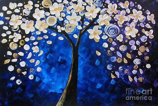 Blue magic by Mariana Stauffer