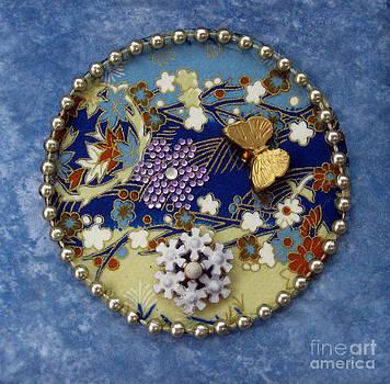 Ellen Miffitt - Blue Mandala