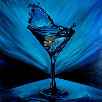 Blue Martini by Matthew Young