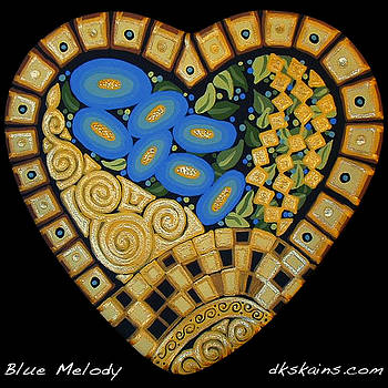 Blue Melody by Dorinda K Skains