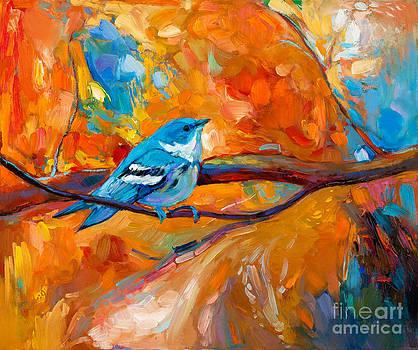 Blue melody by Ivailo Nikolov