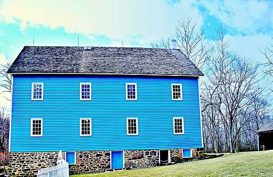 Blue Mill Historic Walnford Mill  by Rick Todaro