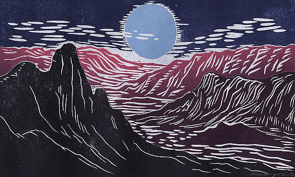 Blue Moon by Maria Arango Diener