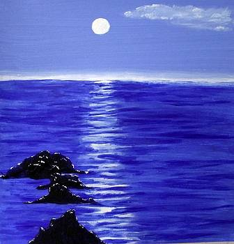 Blue Moon by Sandy Wager