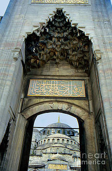 Blue Mosque Gate by Eva Kato