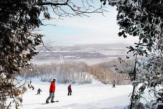 Andrea Kollo - Blue Mountain Ontario Skiing