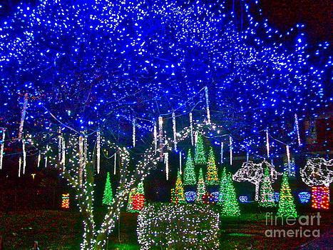 Blue Nela Park by Linda Zolten Wood