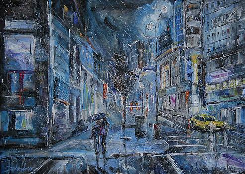 Blue Night by Stefano Popovski
