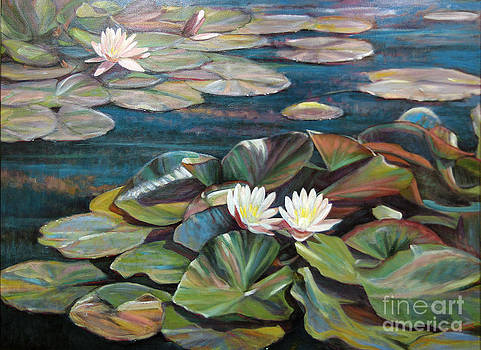Blue Nymphaea  by Rob Fiser