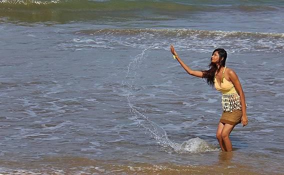 Sea Spray by Ajithaa Edirimane