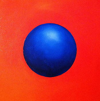 Blue Orb by Alicia Hayes