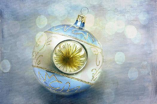 Blue Ornament by Cindi Ressler