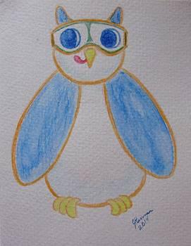 Blue Owl by Joann Renner