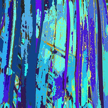 Blue Palms 2 by Rosie Brown