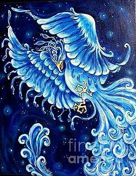 Blue Phoenix by Patience A